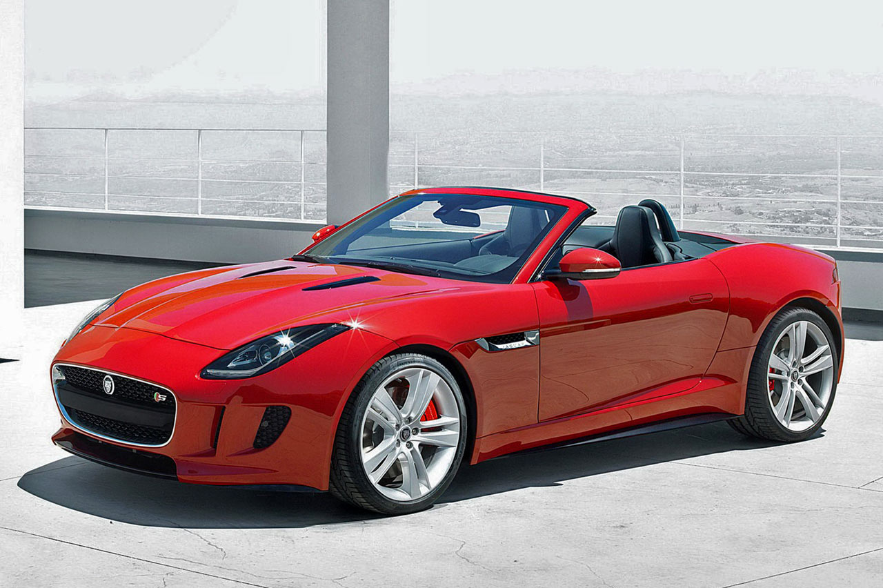 jaguar f type la l gende revient atlantic muscle cars. Black Bedroom Furniture Sets. Home Design Ideas