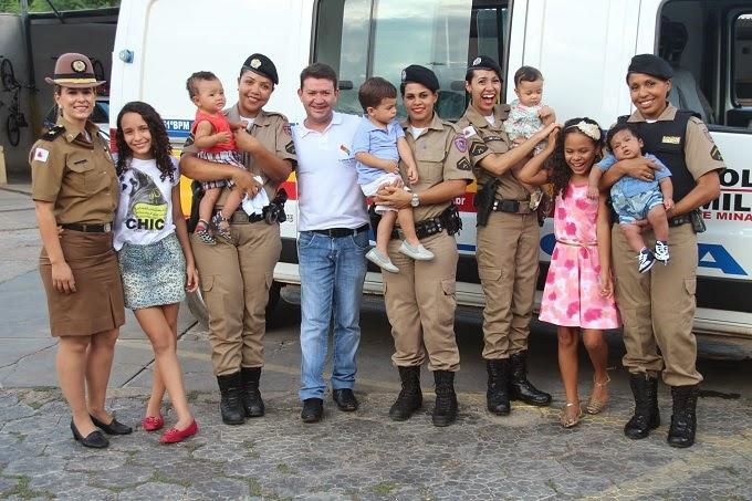 DIA DAS MÃES - MENSAGEM DO 51º BATALHÃO DA POLÍCIA MILITAR DE JANAÚBA - TV SERRA GERAL, canal 13.
