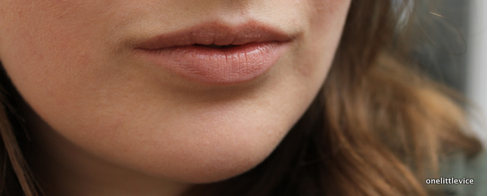 one little vice beauty blog: drugstore nude light pink lipstick