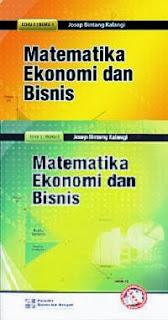 Matematika Ekonomi dan Bisnis Josep Bintang K