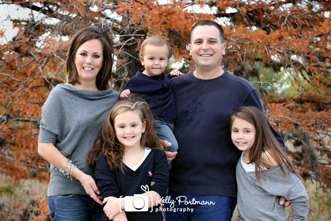 Fall Family Portrait, Family Photo, Kelly Portmann Photography, Family Picture