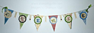 Stampin' Up! Big Shot Petal Cone Banner
