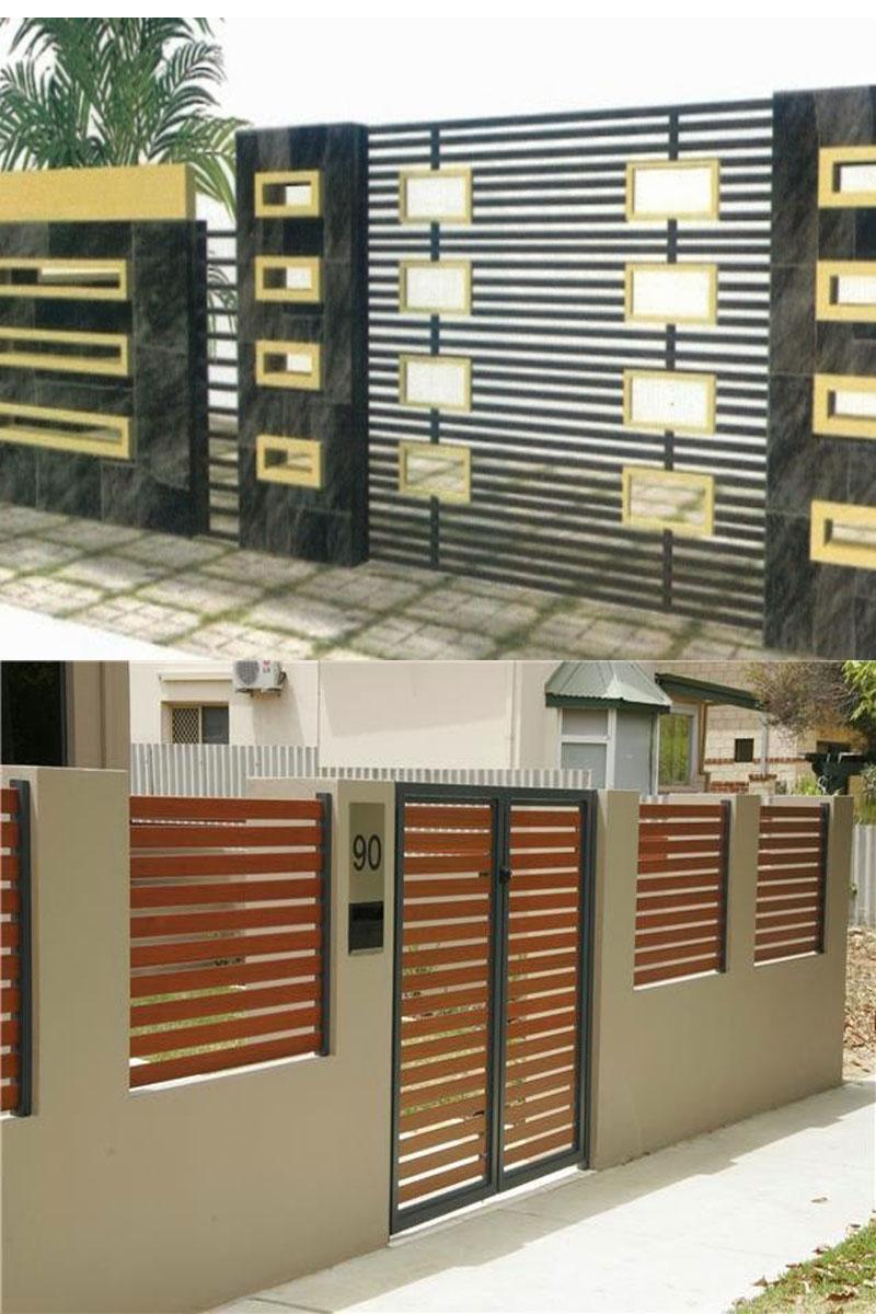 Kumpulan Desain Rumah Minimalis Modern Model Pagar Tembok Rumah