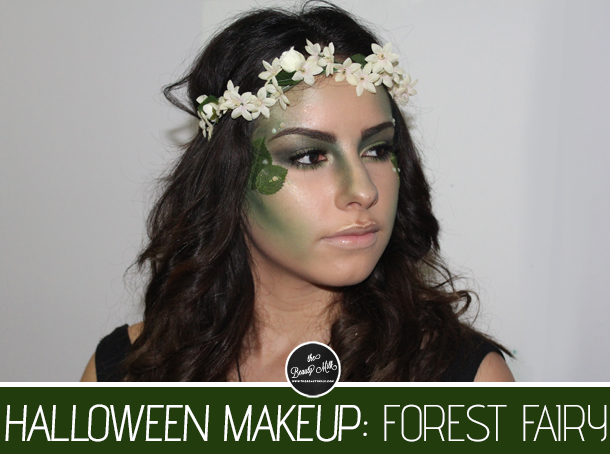 forest fairy mother nature halloween makeup look costume