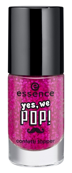 Essence Yes We Pop Confetti Topper