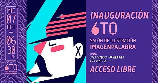 Programación. IMAGENPALABRA, 6to Salón de Ilustración