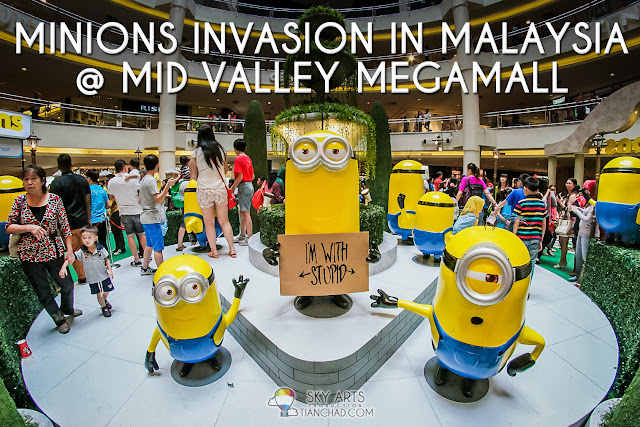 50 HUGE Minions Invaded Mid Valley Megamall mALAYSIA!! [28 May- 14 June]      #minionsMY