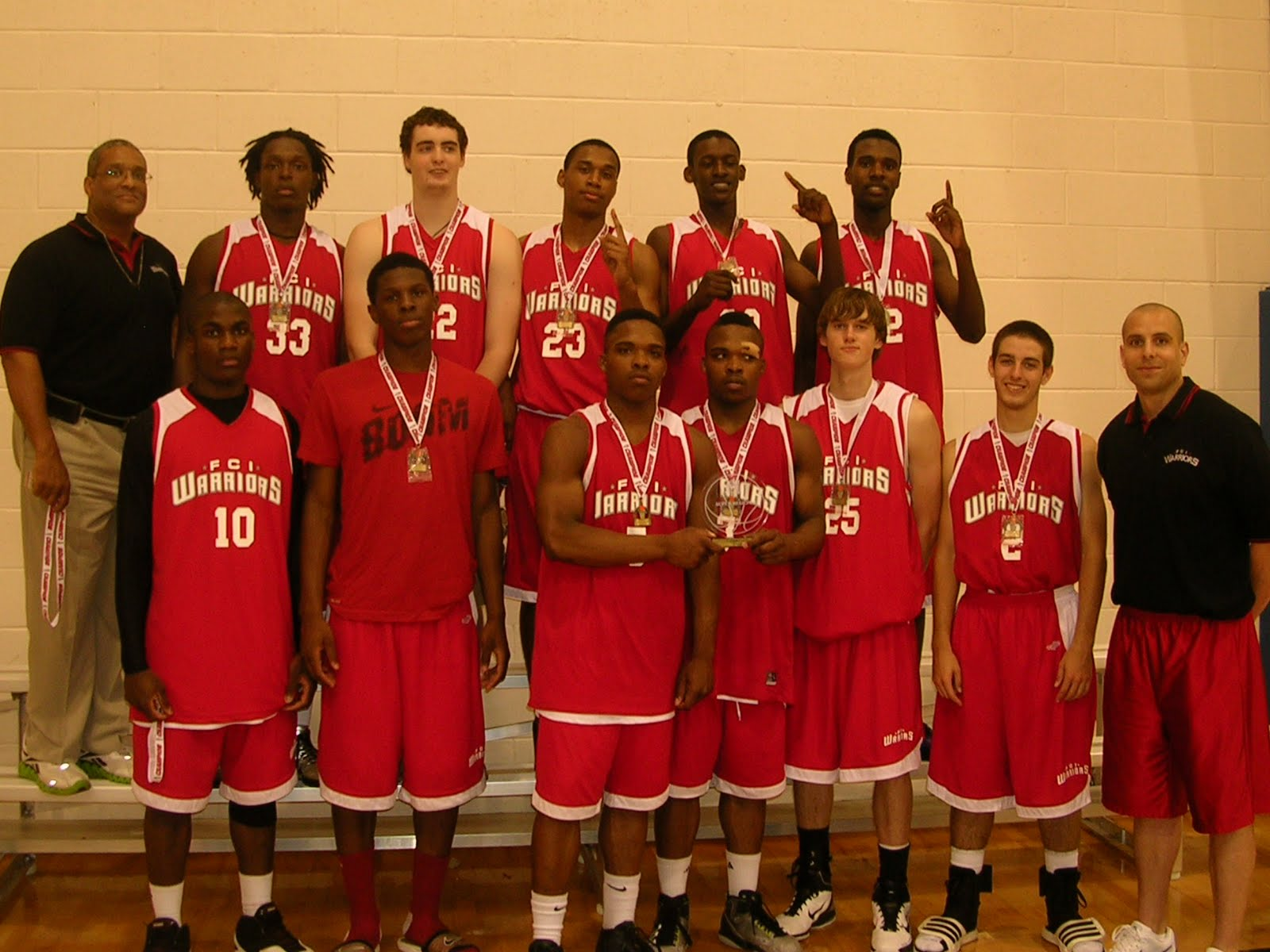 FCI Warriors Sweep ATL AAU Super Regional Remain Undefeated