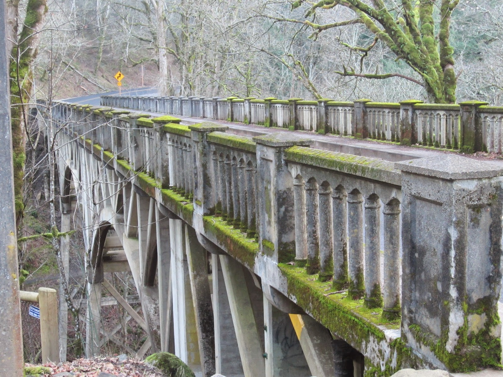 Latourell Falls Bridge, Columbia River Gorge