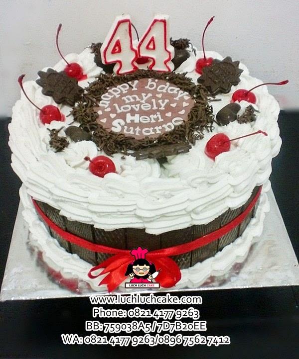 Kue Tart Blackforest Untuk Suami Daerah Surabaya - Sidoarjo