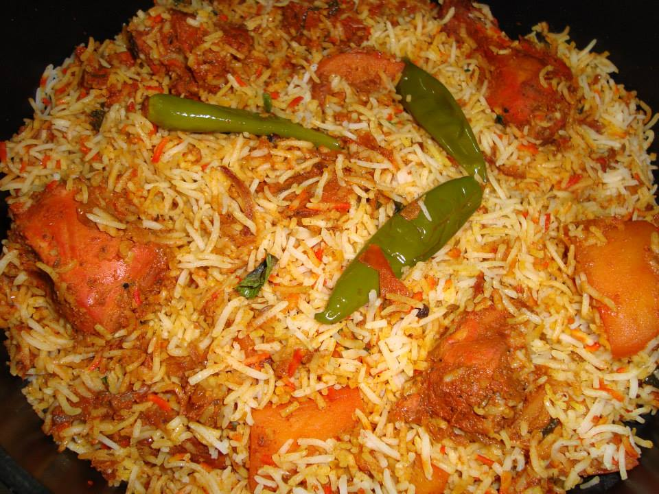 Pakistani Kitchen: Chicken Tikka Biryani