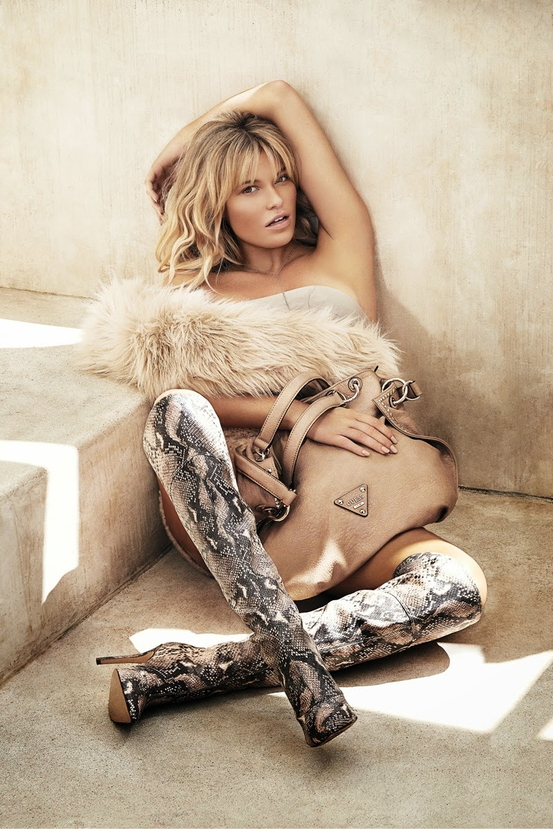 Guess goes western for the Fall 2014 Accessories Campaign