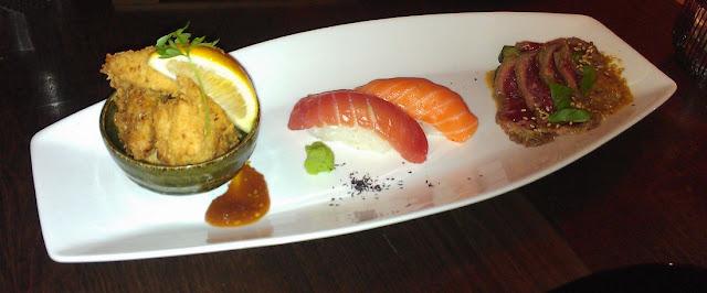 Leafee Cafe, Thorndon, New Zealand, Japanese, sushi
