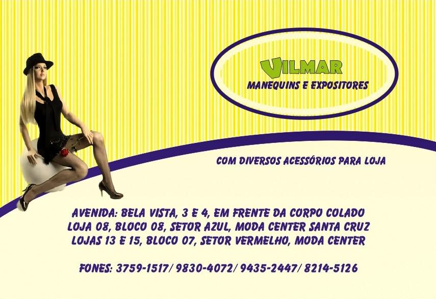 VILMAR MANEQUINS E EXPOSITORES