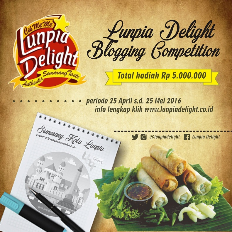 Lunpia Delight Blog Competition 2016
