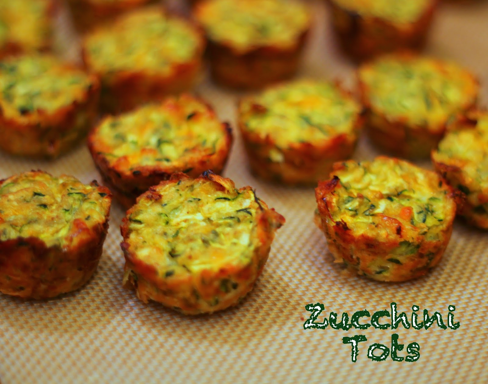 My So-Called (Mommy) Life: Zucchini Tots