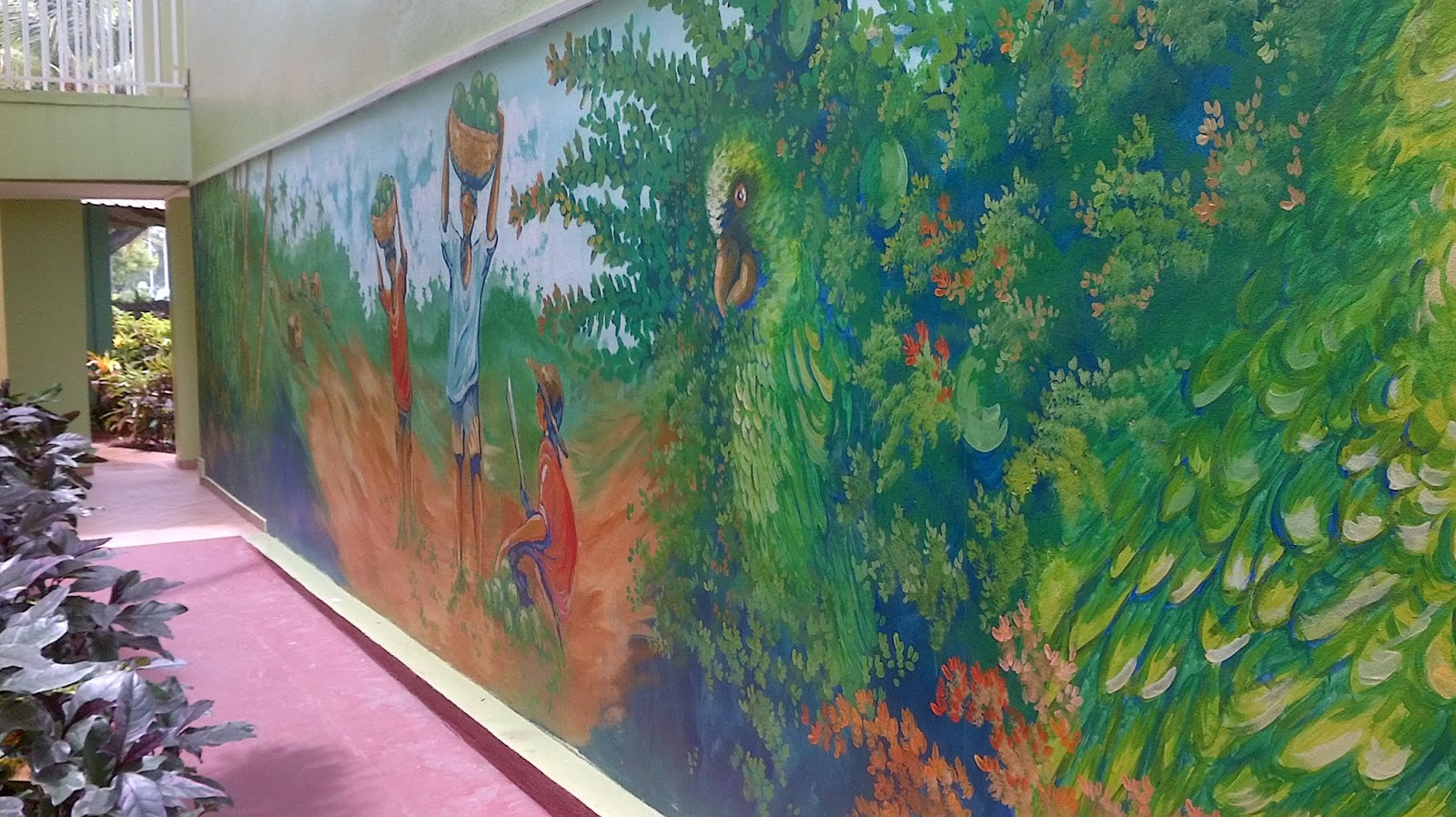 Coconut bay beach resort and spa for Bay view wall mural