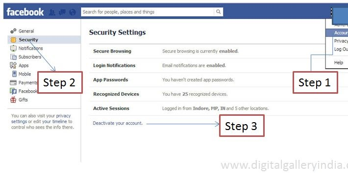 Askmeanytg how to delete fb account permanently ccuart Image collections