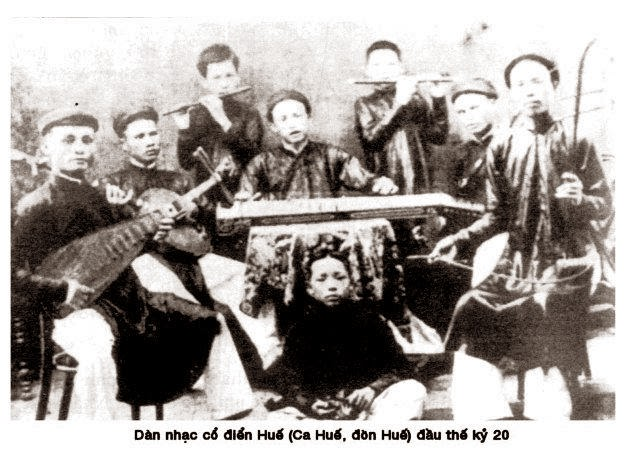 Nhã nhạc cung đình huế thời xưa