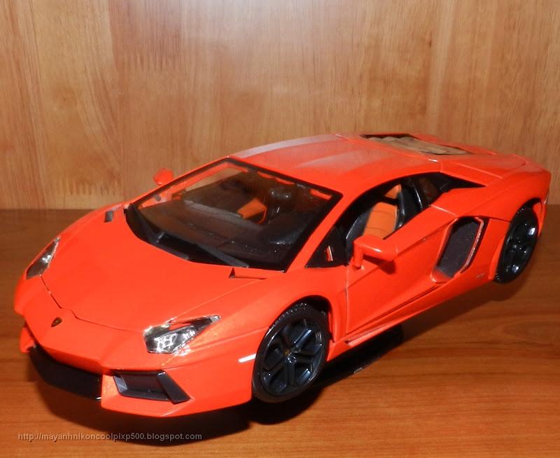 Diecast 1:18 Lamborghini Aventador