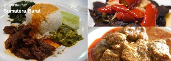 Nama Lokasi Wisata Kuliner Sumatera Barat