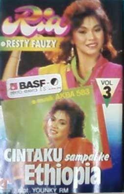 Lagu Lawas dari Penyanyi Ria Resty Fauzi dengan judul Album Cintaku