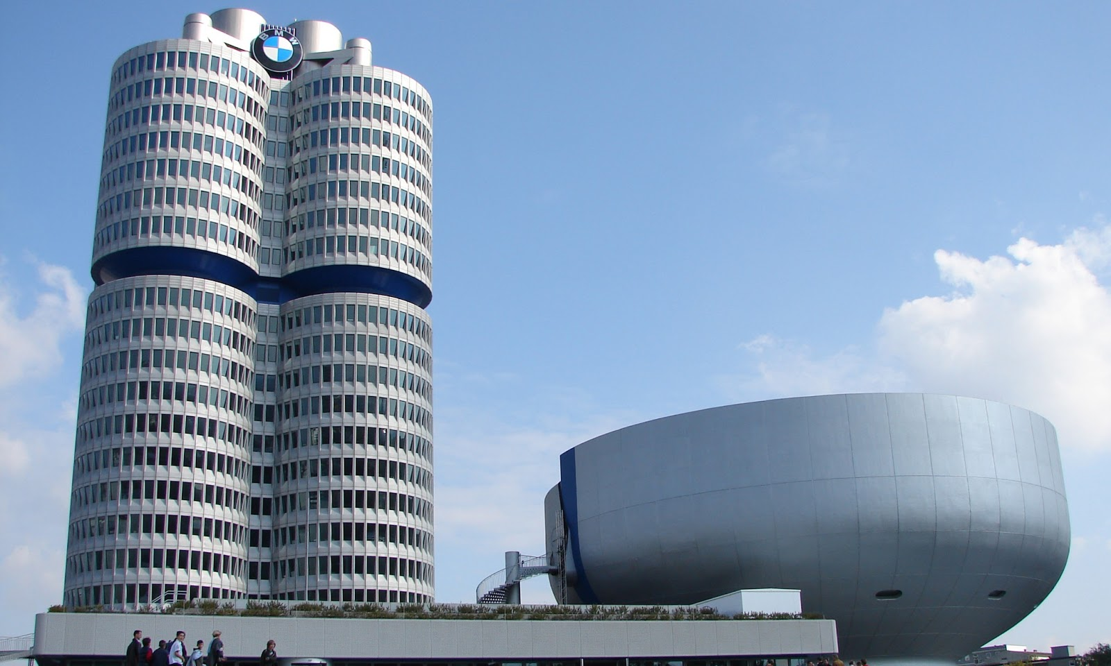 bmw building hd wallpapers high definition free