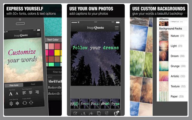 إليك أفضل 4 تطبيقات لإضافة اقتباسات رائعة على صورك ومشاركتها على إنستغرام | للأندرويد والأيفون image4.png