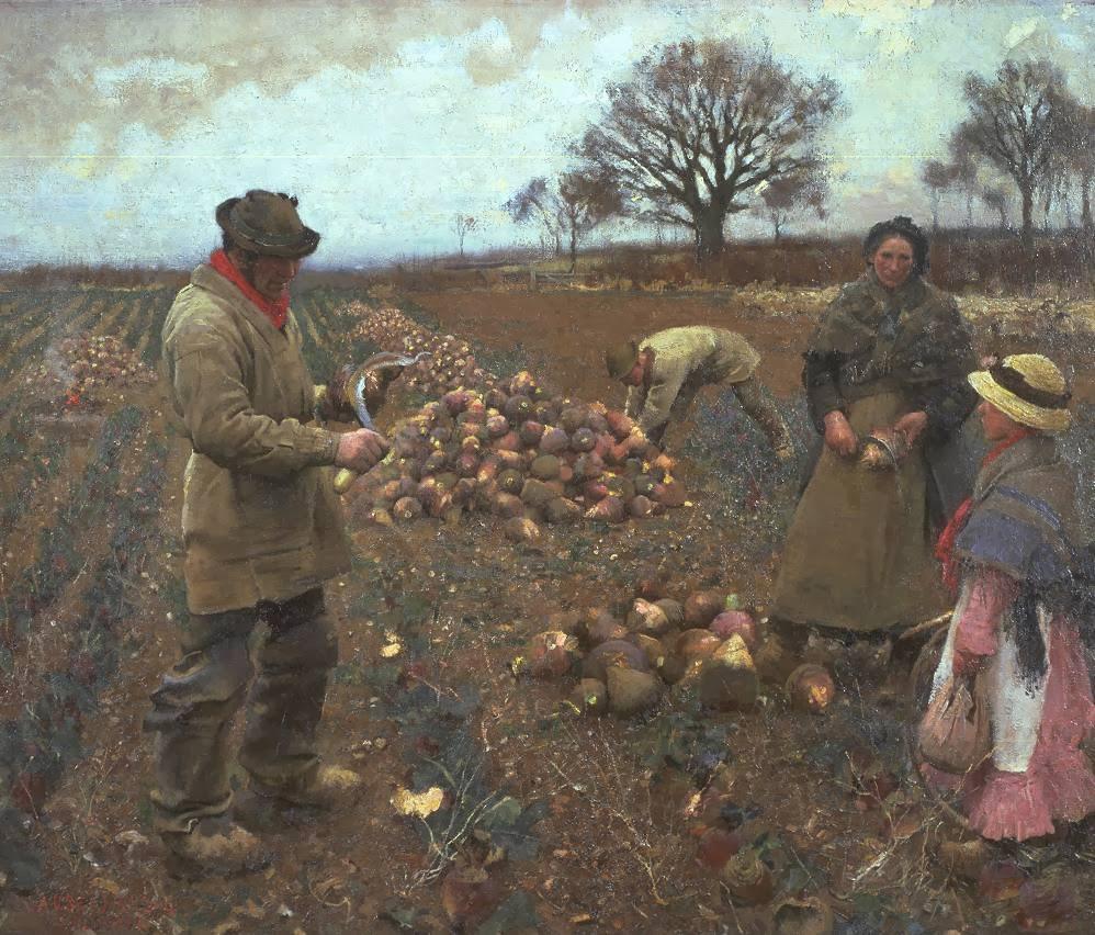 Tyreece John Jules Wallpaper: Victorian British Painting: Sir George Clausen