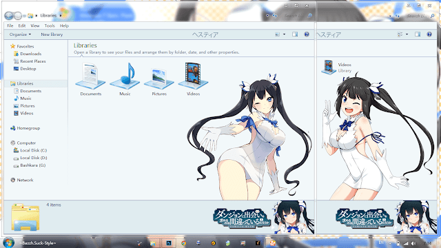 Tema Hestia - Dammachi Windows 7