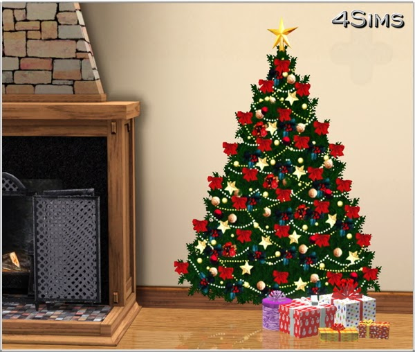 My Sims 3 Blog: Christmas Wall Decals By Mirel