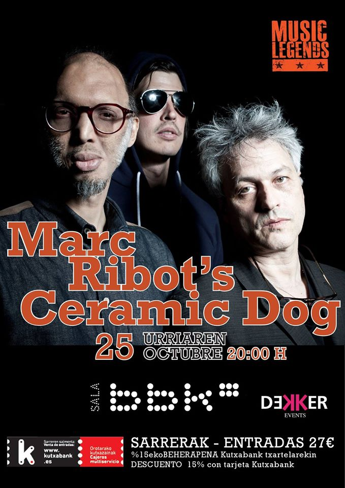 RECOMENDACIÓN!!! - 25/10/16<br> Sala BBK - Bilbao