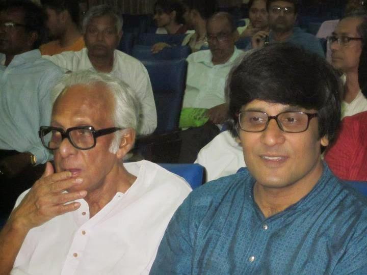 With Mrinal Sen