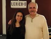 Con Melisa Lamione