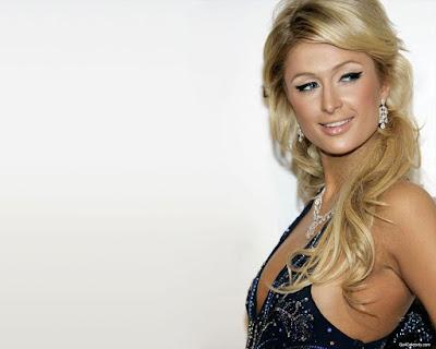 Super Model Paris Hilton Wallpaper