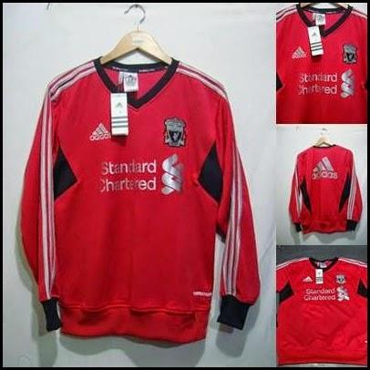 Sweater GO Liverpool Merah