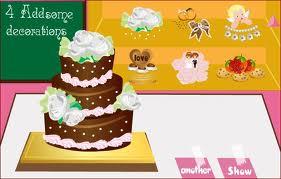 Düğün Keki Yapan Kız Oyunu