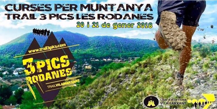 "Trail 3 Pics "" Les Rodanes"""