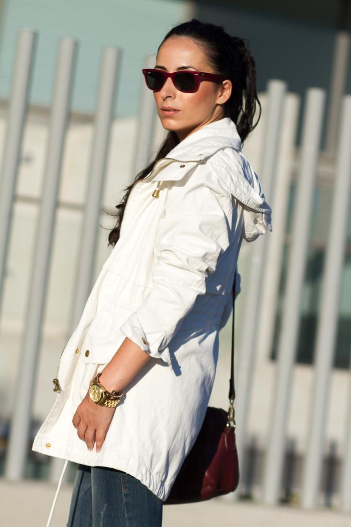 Estilo casual de blogger de moda valenciana withorwithoutshoes