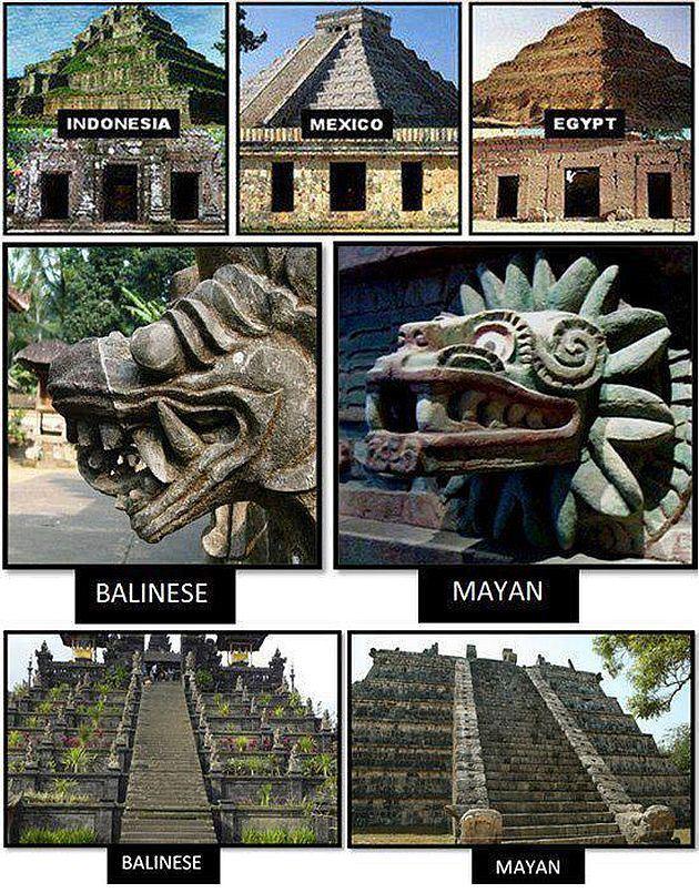 Mate ticas y arte itinerarios matem ticos iv pir mides for Las construcciones de los mayas