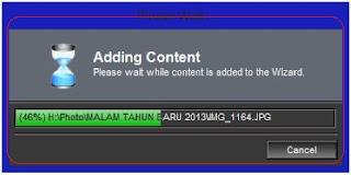 <img alt='Proses adding photo maupun video pada proshow wizard' src='http://4.bp.blogspot.com/-NJwRUUYpBl8/UP1UF3gc9oI/AAAAAAAAFVM/wbUBfOi2BwQ/s1600/add+konten.jpg'/>