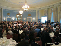 MariTech 2012 gala dinner at Chateau Laurier in Ottawa
