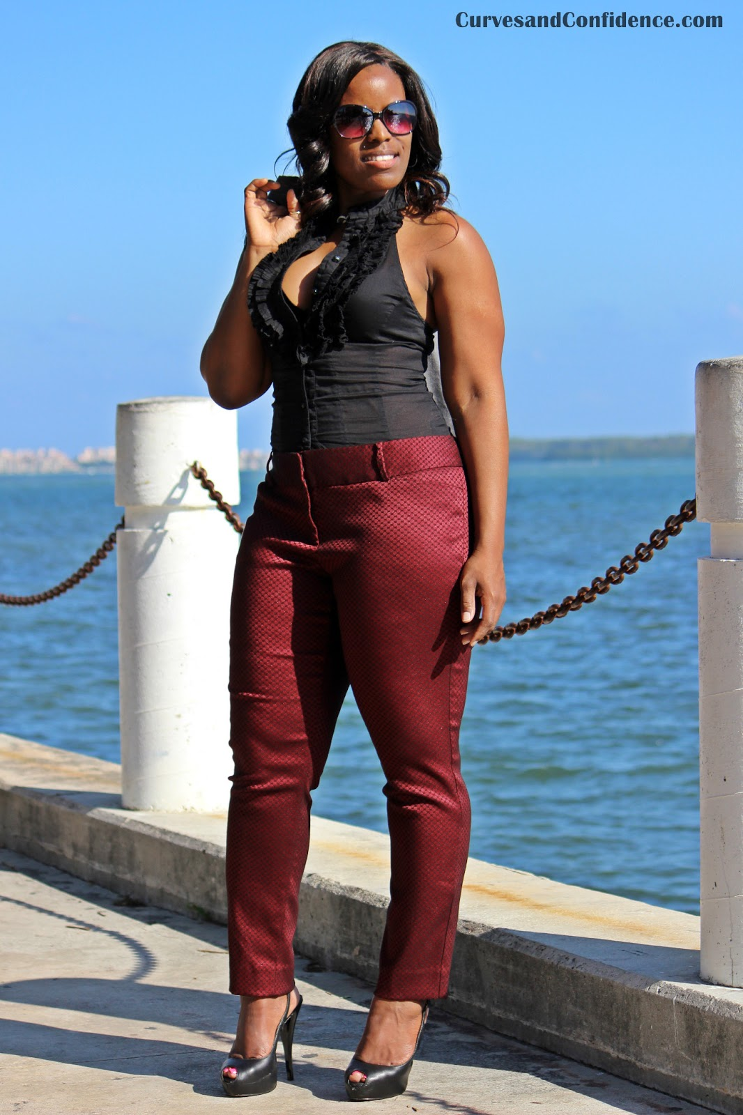Amazing How To Wear Wide Leg Pants Plus Size