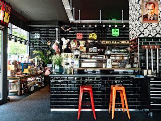 Cafetería de diseño. Alemania
