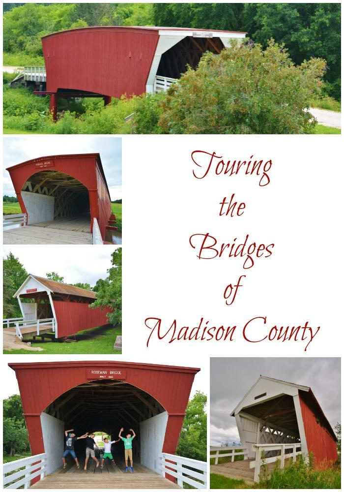 Tour the scenic covered Bridges of Madison County. #70dayroadtrip #travel #familytravel