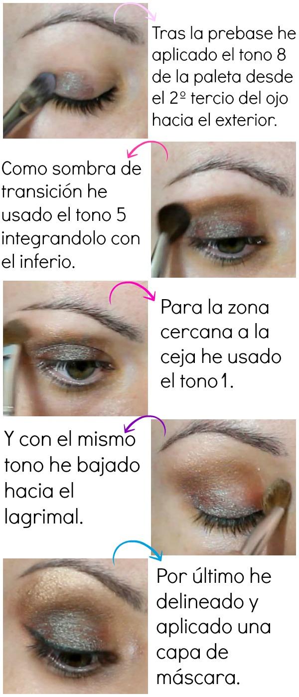 Maquillaje 02: Comfort Zone de Wet n Wild tonos verde y marrón
