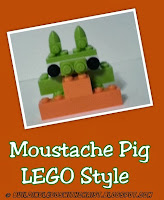 Angry Birds LEGO Creations, Moustache Pig, #LEGO Creations