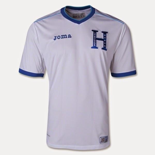 Jersey Negara Honduras - Piala Dunia 2014