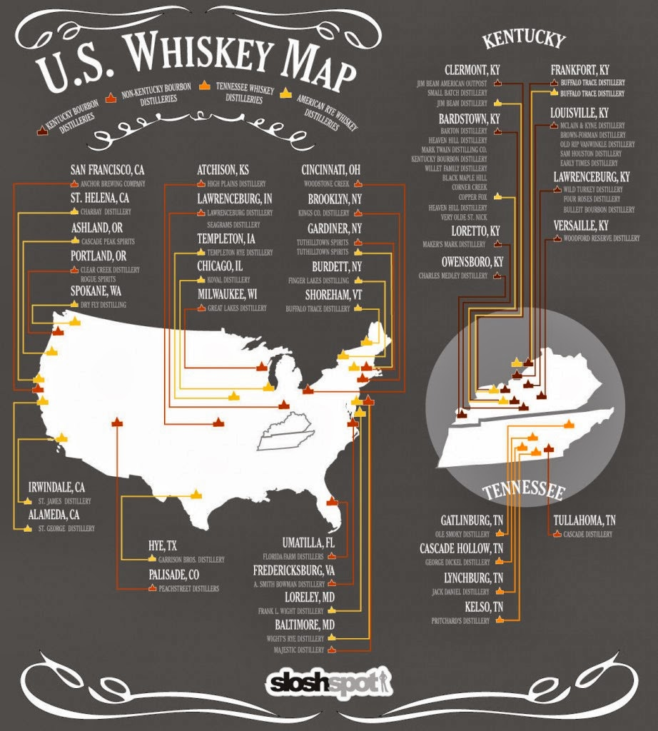still not sure what liquid gold you ll be bringing on the 26th here is a map for all you bourbon sipping map loving conners out there