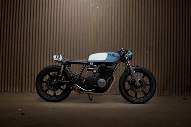 YAMAHA SX750 Cafe Racer by Ugly Motor Bikes
